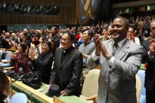 Konsensus kring slutdokumentet kring den nya hållbara utvecklingsagendan