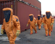 TRELLCHEM® LEVEL A GASTIGHT SUITS PASS THE PYROMAN (TM) TEST