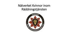 Piteå räddningstjänst arrangerar nätverksträff för kvinnor inom räddningstjänsten