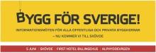 Dan Sandén diskuterar ökat bostadsbyggande med Boverkets generaldirektör