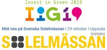 Invest in Green, i Samarbete med Svenska Solelmässan