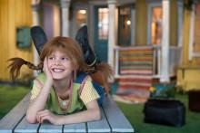 Pippi gör entré på Junibacken – en barnensemble spelar föreställningen Pippi flyttar in