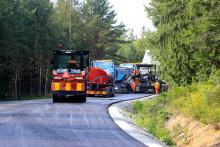 Peab Asfalt vinner Trafikverkskontrakt i Dalarna och Gävleborg