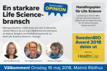 Pressinbjudan: Politikerdebatt om en starkare life science-bransch på SwedenBIO Opinion
