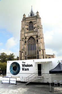 ​Vision Express Rolls out the Vision Van