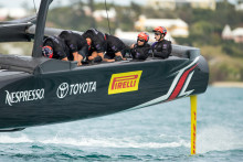 Pirelli sponsrar Emirates Team New Zealand för America's Cup 2017