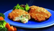 Fyldt Rødspætte med broccoli og ost