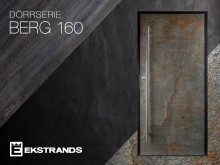 Ekstrands presenterar ytterdörrar med äkta sten - BERG 160