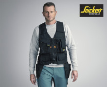Snickers Workwear lanserer ny verktøyvest
