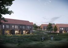 Nye rækkehuse revitaliserer Skt. Jørgens Gade i Odense