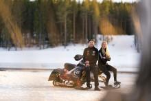 Skotercrossen genomsyrar familjen Lundströms liv