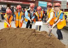 Byggstart för Vimpeln – framtidens köpcentrum i Alingsås