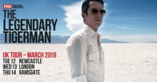 "THE LEGENDARY TIGERMAN: Europe's Rock 'n' Roll ""Misfit"" Announces UK Tour Dates"