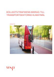 Rapport: Kollektivtrafikens bidrag till klimatmålen