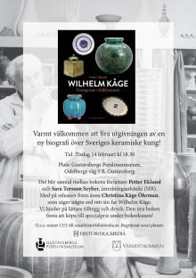Inbjudan till release om Wilhelm Kåge-biografi