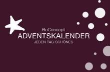 BoConcept Düsseldorf, Essen, Hannover, Hamburg am Fischmarkt, Köln: Adventskalender 2016 - Gäste willkommen!