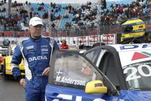 Nu drömmer Andersson om STCC-pallen med Dacia