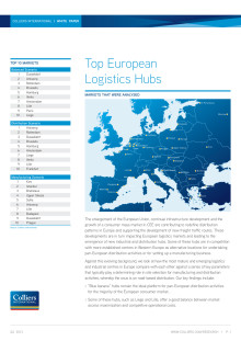 Top European Logistics Hubs