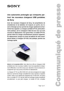 Communication de presse_Portable Chargers CP-Serie_F-CH_141104
