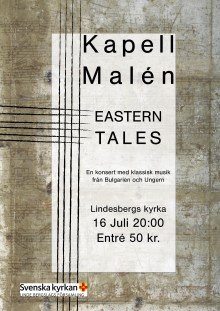 Kapell Malén ger konsert i Lindesberg