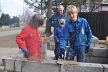 Gammal tullport har återskapats av elever i Lidköping