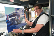 Last of Sunderland District Omnibus drivers retires