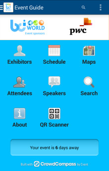 Download the BCI World Conference app
