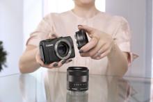 EOS M - speilreflekskvalitet i et lett, kompakt kamera.
