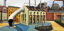 Legepladsen i Norrköping skiller sig ud fra mængden