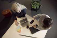 Co-working blir nav för innovation på Campus Umeå