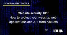 [WEBINAR] Website security 101