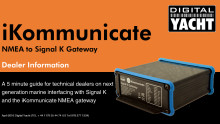 iKommunicate - Next Generation Marine Interfacing with Signal K and NMEA