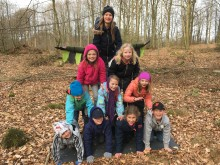 Tusen elever letar efter balansen på Naturcirkus