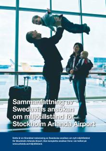 Populärversion av Arlandas miljötillståndsansökan