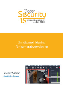 PDF: Smidig molnlösning för kameraövervakning