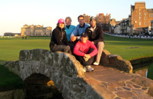 University of St Andrews bjuder in Scandinavian School of Golf till sitt 600-årsjubileum