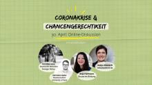 Reminder! Coronakrise und Chancengerechtigkeit - die Online-Diskussion