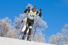 Lager157 Ski Team tränar med WeMeMove