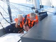 Säkerhetsförberedelser inför stundande Atlantensegling
