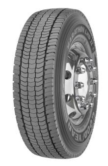 Goodyear presenterar sortimentet Marathon +  för lastbilsdäck  -  lägre driftkostnader och bättre våtgrepp