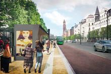 Nu börjar ombyggnaden av Drottninggatan och Järnvägsgatan