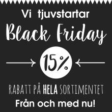 Black Friday startar nu!
