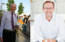 Jan Einar Blomqvist och Nicolas Hassbjer hedersdoktorer vid Högskolan i Halmstad