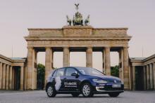 Volkswagen WeShare med 100 procent elbilar är nu lanserat i Berlin