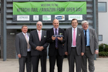 Hitachi Rail Europe Signs Contract with Merchant Place Developments for Construction of New UK Train Factory