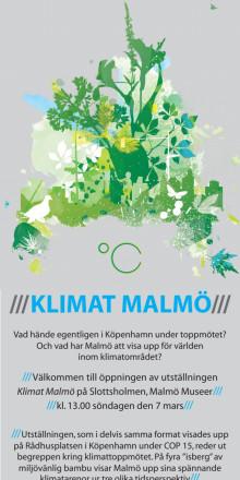Klimat Malmö - efter Köpenhamn...
