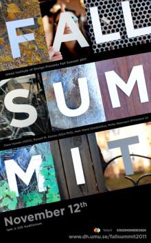 Umeå Institute of Design   Fall Summit 2011