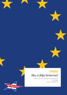 Ny rapport: Överhängande risk för Brexit med Danmarks nej