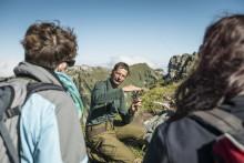 Die High Society unserer Berge: Murmeltier, Steinbock, Bartgeier & Co. in den Schweizer Pärken