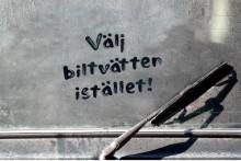 Stora biltvättarhelgen i Karlshamn